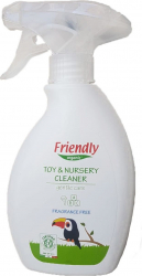 Detergent Igienizant spray jucarii si suprafete Friendly Organic 250 ml Detergent ecologic