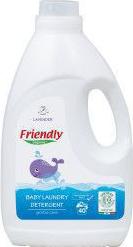 Detergent rufe Friendly Organic pentru bebelusi Lavanda 40 spalari 2000 ml Detergent ecologic