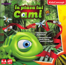 Joc Kidz Concept - In plasa lui Cami KIC601 Jocuri de Societate