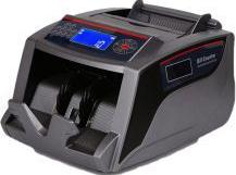 Masina de numarat bani / bancnote 2828C display dublu LCD Bill Counter Black 2828c b Masini de numarat bani