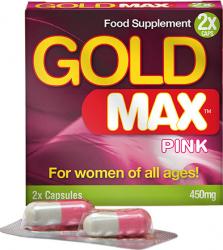 Capsule GoldmaX Pink - Premium Pills - pentru libidou crescut la femei 2 caps Vitamine si Suplimente nutritive