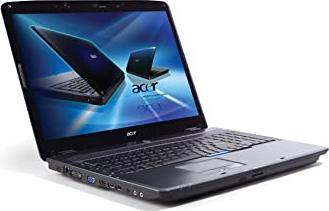 Laptop refurbished Acer Aspire 7530 Procesor AMD X2 Athlon 1.90 GHz memorie ram 4gb HDD 250gb 17