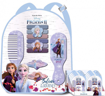 Rucsac cu accesorii pentru par 12pcs - Frozen 2 WD20776 Costume serbare
