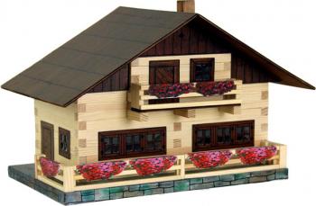 Set de construit din lemn Walachia - Casa Montana 195 piese Seturi de constructie