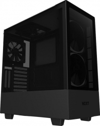 Carcasa NZXT H510 Elite Middle Tower ATX fara sursa Matte Black Carcase