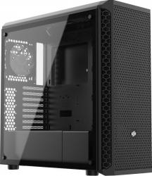 Carcasa SilentiumPC Signum SG7V TG Middle Tower ATX fara sursa black Carcase