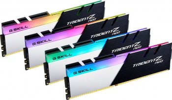 Kit Memorie G.SKill Trident Z Neo 64GB 4x16GB DDR4 3600MHz CL18 Quad Channel Kit Memorii