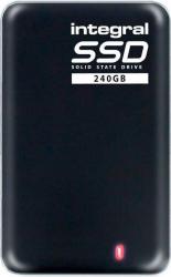 SSD Extern Integral 240GB USB 3.0 Black SSD uri