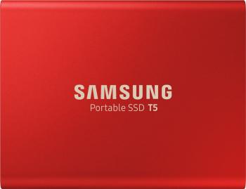 SSD extern Samsung T5 portabil 1TB USB 3.1 Rosu
