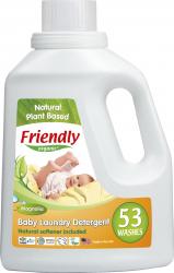 Detergent rufe bebe magnolie Friendly Organic 53 spalari 1567 ml Detergent ecologic