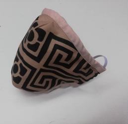 masca protectie impuriati 3 straturi bumbac ranforce buzunar Masti chirurgicale si reutilizabile