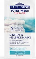Masca vindecatoare cu namol mineral si zinc Salthouse 2x7 ml