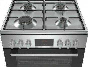Aragaz Bosch HXN39BD50 4 arzatoare gaz Inox