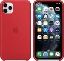 Husa Compatibila Apple pentru iPhone 11 Pro Max Silicon Rosu Huse Telefoane