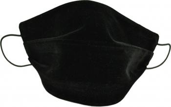 Masca fata copii catifea model fashion negru Accesorii Dama