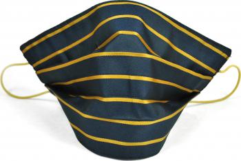 Masca fata fashion bluemarin dungi galbene Accesorii Dama