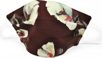 Masca fata model fashion bordo floral Accesorii Dama