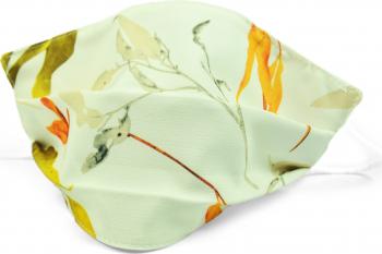 Masca fata model fashion crem floral Accesorii Dama