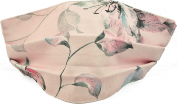 Masca fata model fashion roz floral Accesorii Dama