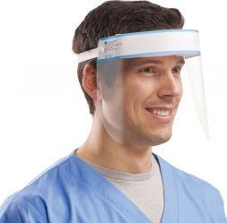 Masca viziera rabatabila de protectie a ochilor si a fetei Face SHIELD impotriva particulelor mici avizat tehnic de M.A.P.N aviz 153 Articole protectia muncii