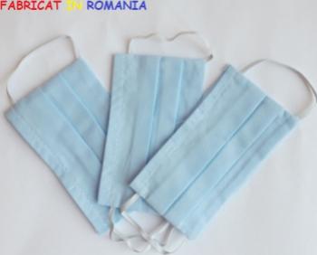 Set de 3 masti de protectie reutilizabile pentru copii Masti chirurgicale si reutilizabile