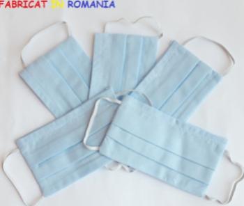 Set de 5 masti de protectie reutilizabile pentru copii Masti chirurgicale si reutilizabile