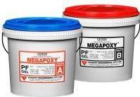 Adeziv epoxidic bicomponent rapid Megapoxy PF Gel 1L semitransparent Accesorii materiale de constructie