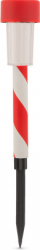 Lampa solara LED Motor Starter model dungat culoare rosu/alb intrerupator ON/OFF temperatura culoare 6500K acumulator NiMh Corpuri de iluminat