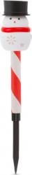 Lampa solara LED Motor Starter model Om de Zapada culoare rosu/alb intrerupator ON/OFF temperatura culoare 6500K acumulator NiMh Corpuri de iluminat