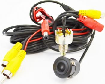 Camera video marsalier 2X1 sistem video NTSC/PAL Motor Starter Pro Alarme auto si Senzori de parcare