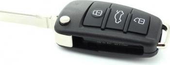 Carcasa cheie Audi A6L tip briceag CC027 3 butoane Lacate