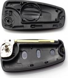 Carcasa cheie Ford Mondeo tip briceag CC114 3 butoane negru Lacate