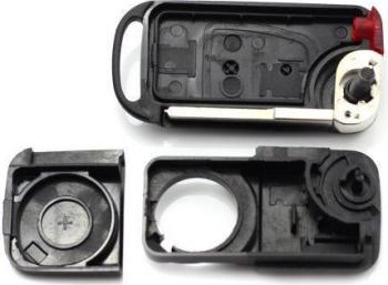 Carcasa cheie Mercedes-Benz tip briceag CC067 2 butoane lama 2 piste Lacate