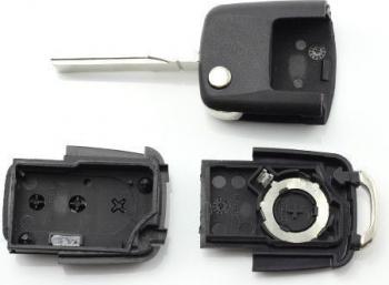 Carcasa cheie VW tip briceag CC262 3 butoane Lacate