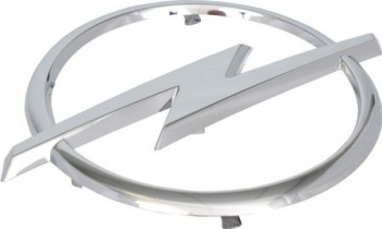 Emblema Fata OE/original Opel Astra H an fabricatie 2004-2009 Lacate