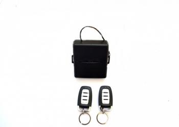 Inchidere centralizata YT 01 culoare neagra doua telecomenzi Alarme auto si Senzori de parcare