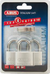 Lacat Titalium ABUS 726/40 Triples B - nivel securitate 4 din 10 Lacate