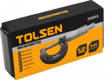 Micrometru 0-25 mm prefesional Tolsen