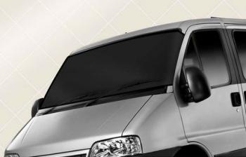 Parasolar auto anti-inghet dublu strat de protectie 110-160x75cm negru Lacate