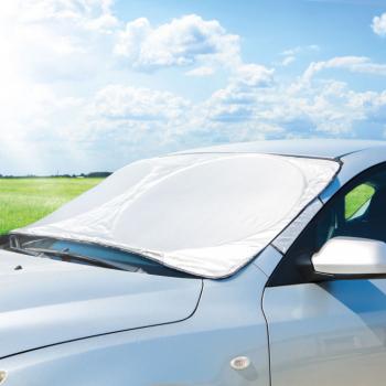 Parasolar Parbriz Auto pentru Protectie Solara sau Inghet Thermfoil 150x70 cm Lacate