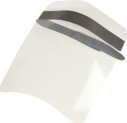 Viziera protectie fata PVC transparent cu prindere reglabila Articole protectia muncii