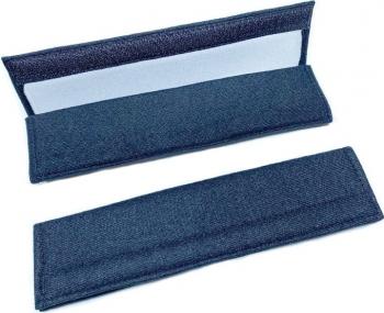 Set 2 buc protectie centura de siguranta/huse din poliester S-Line inchiderea and nbsp velcro dimensiuni 22cm x 6cm