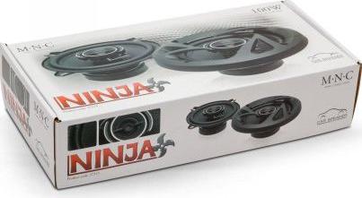 Set difuzoare auto MNC Ninja 6.5 and rdquo /160mm putere nominala 120 W 4 ohm carcasa din otel ambutisat