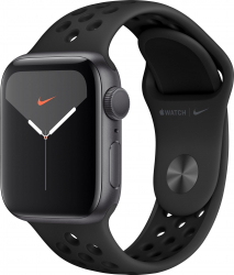 Apple Watch Nike Series 5 GPS 44mm Carcasa Space Grey Aluminium Case curea Anthracite Black
