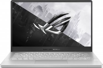 Laptop Gaming ASUS ROG Zephyrus G14 GA401IV AMD Ryzen 9 4900HS 1TB SSD 16GB NVIDIA GeForce RTX 2060 6GB QuadHD Ta. il. Moonlight White Laptop laptopuri