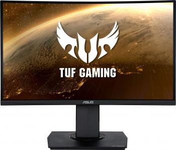 Monitor Curbat LED Asus TUF Gaming 23.6 Full HD 144Hz 1ms Shadow Boost FreeSync Monitoare LCD LED