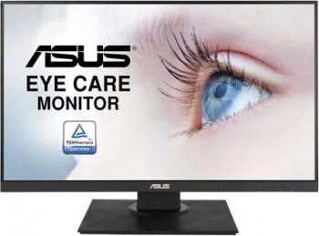 Monitor LED IPS ASUS VA24DQLB 23.8inch Full HD 75Hz 5ms DisplayPort FreeSync Pivot Negru Monitoare LCD LED