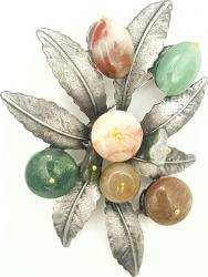 Brosa frunza Tia Accesorii multicolor Casete Bijuterii