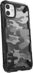 Husa iPhone 11 Pro Max Bumper Ringke Fusion X Camo Negru Huse Telefoane