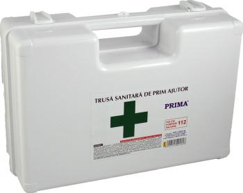 Trusa Sanitara de Prim Ajutor - Detasabila cu suport de perete avizata MS Articole protectia muncii